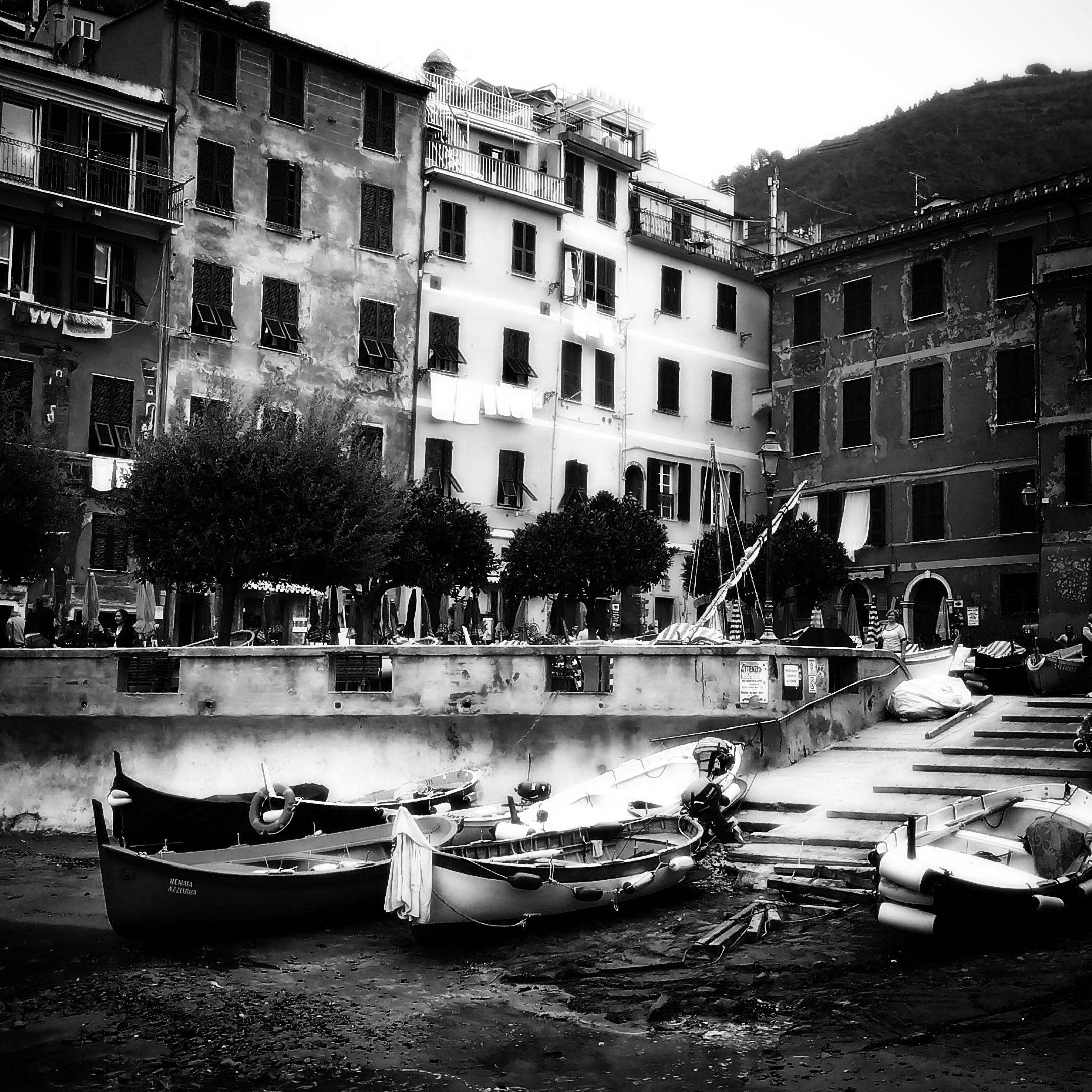 Ashore in Vernazza