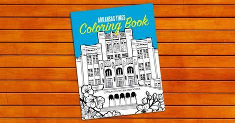 Arkansas TIMES Coloring Book