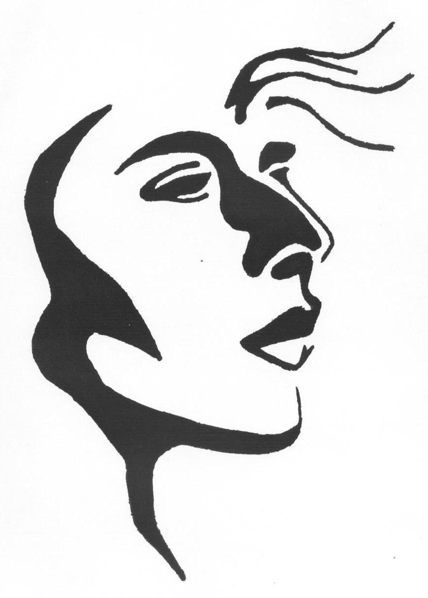 Ink Drawing - Isabella001