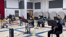 Jewel Middle School 8th Grade Band