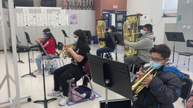 Washington Middle School 7th and 8th Grade Bands