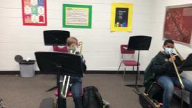 6th Grade Baritone and Trombones