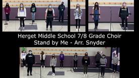 Herget 7th and 8th Grade Choir