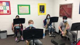6th Grade Saxophones