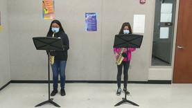 7th Grade Alto Saxophone Duet