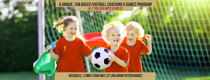 A UNIQUE, FUN BASED COACHING AND GAMES P