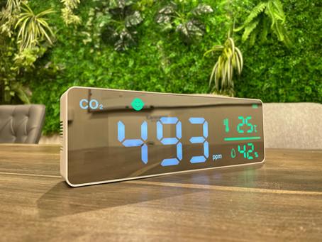 蔓延防止措置『 高性能CO2濃度測定器 (業務用/LED大画面モニターver.)』販売開始のお知らせ