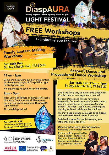Workshops 15th Feb Poster CHURCH HALL.pn