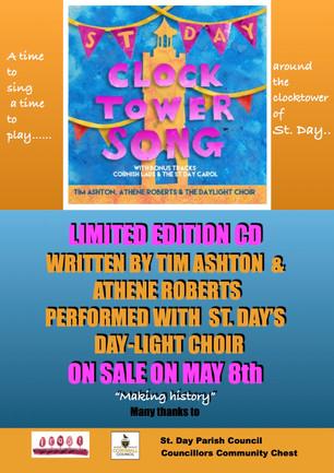 Clocktower Song CD!
