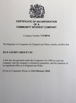 We are now a CIC!