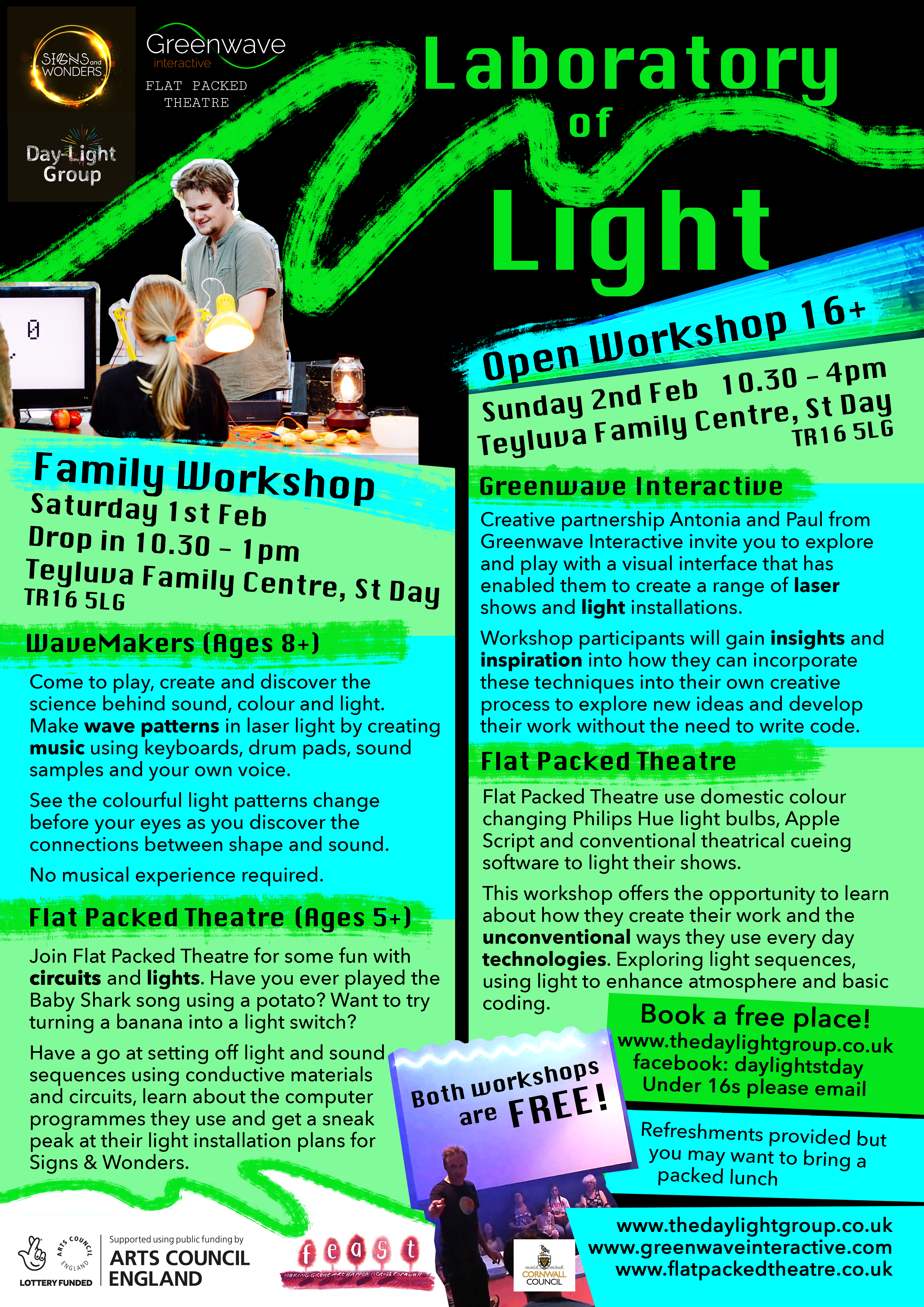 Laboratory of Light Workshops