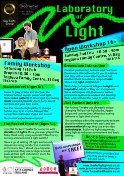 Laboratory of Light Workshops