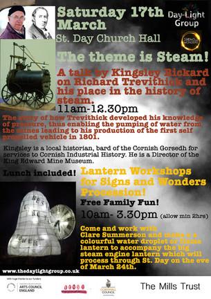 Saturday 17th March TALK AND LANTERN WORKSHOP