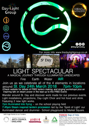 NEXT EVENT! St Day 24th March