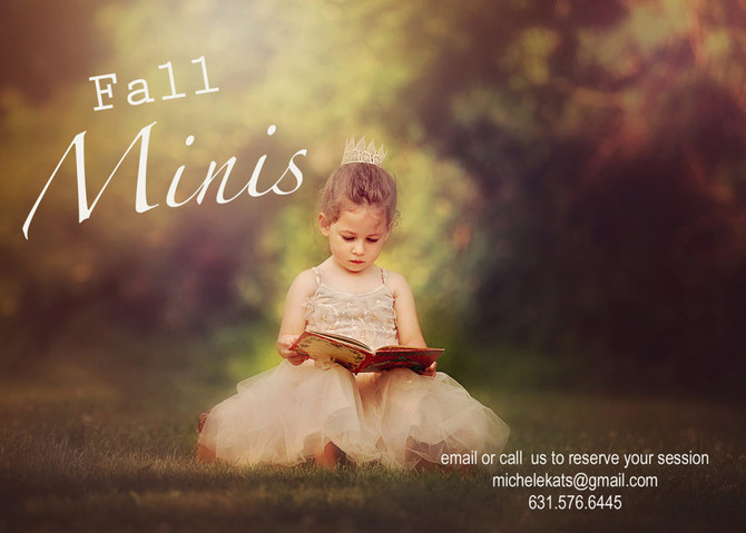 Fall Mini Sessions!!!