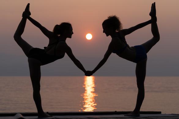 Sisters & Smokey Sunsets - Melissa Hinz & Jessi Trauth