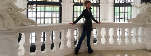 Melissa Hinz in Vienna, Austria