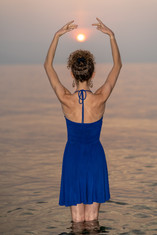 Dancing with the Smokey Sunset - Melissa Hinz