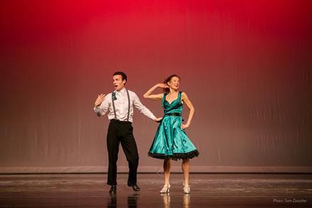 Tappin' The Night Away - Gino Bloomber & Melissa Hinz
