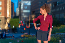 Melissa Hinz in NYC