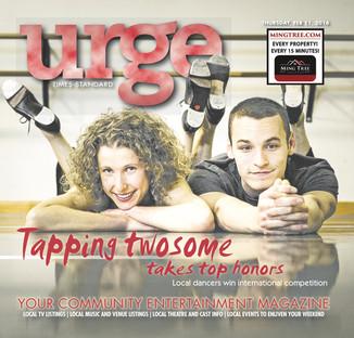 Urge Magazine - Melissa Hinz & Gino Bloomberg
