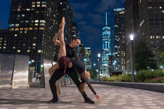 Melissa Hinz & Gino Bloomberg in NYC