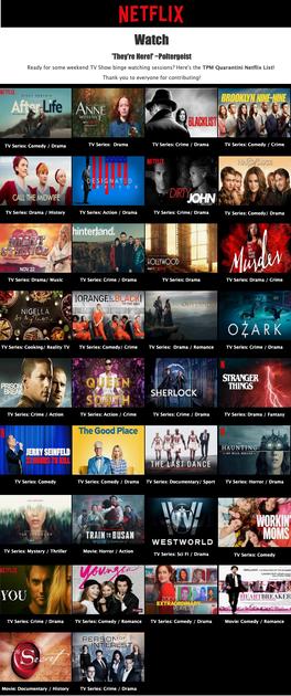 Netflix list
