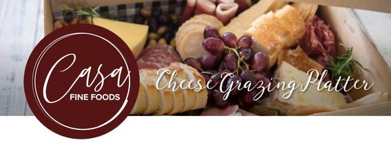 DIY Cheese Grazing Platter