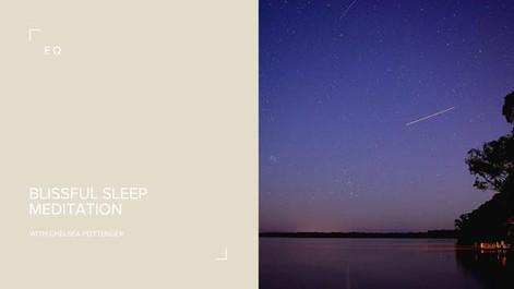 Blissful Sleep Meditation