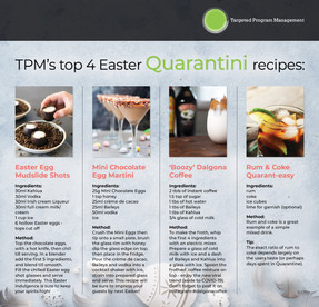 Top 4 Easter Quarantini Recipes