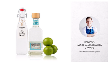 How to make a Margarita 3 ways