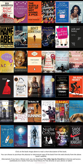 Book List Suggestions