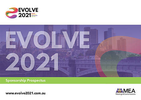 Evolve 2021 Conference - Sponsorship Pro