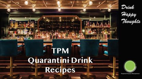 Quarantini Drink Recipe Book
