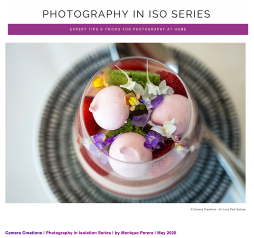 Photography in Iso Series