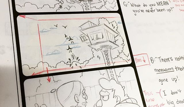 """Meeting Alex"" Storyboards"