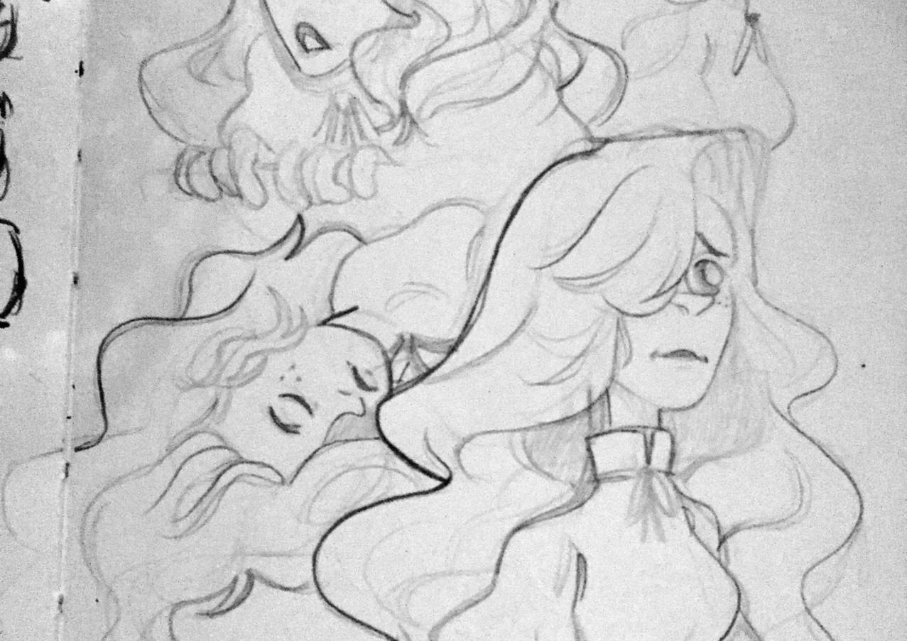 """Bernadette"" Sketches"