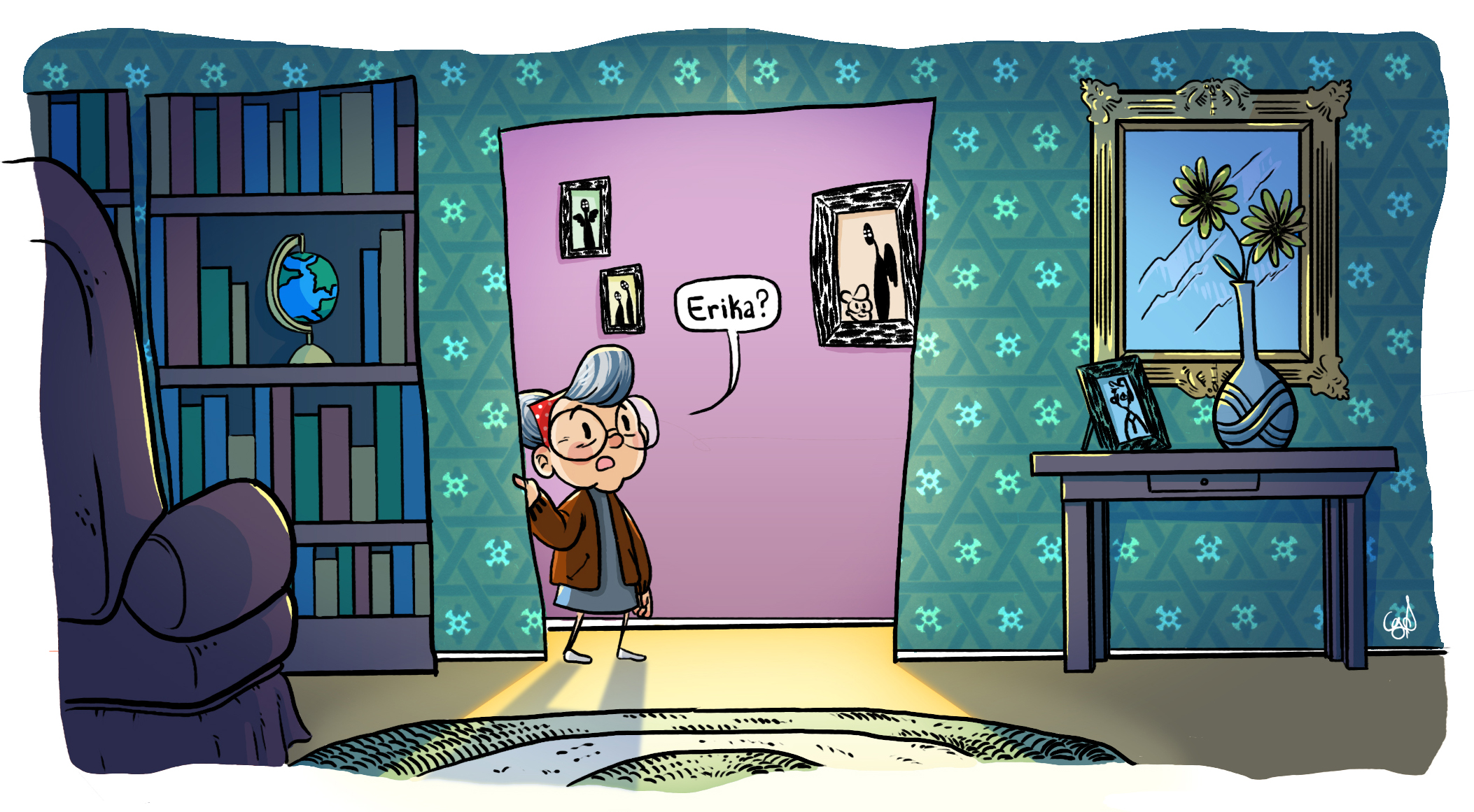 Old Woman Josie, Panel 2