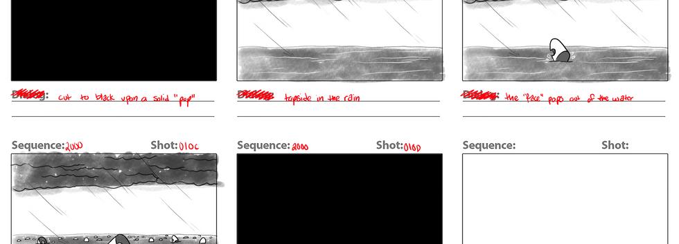 """Depression"" Storyboard (4 of 4)"