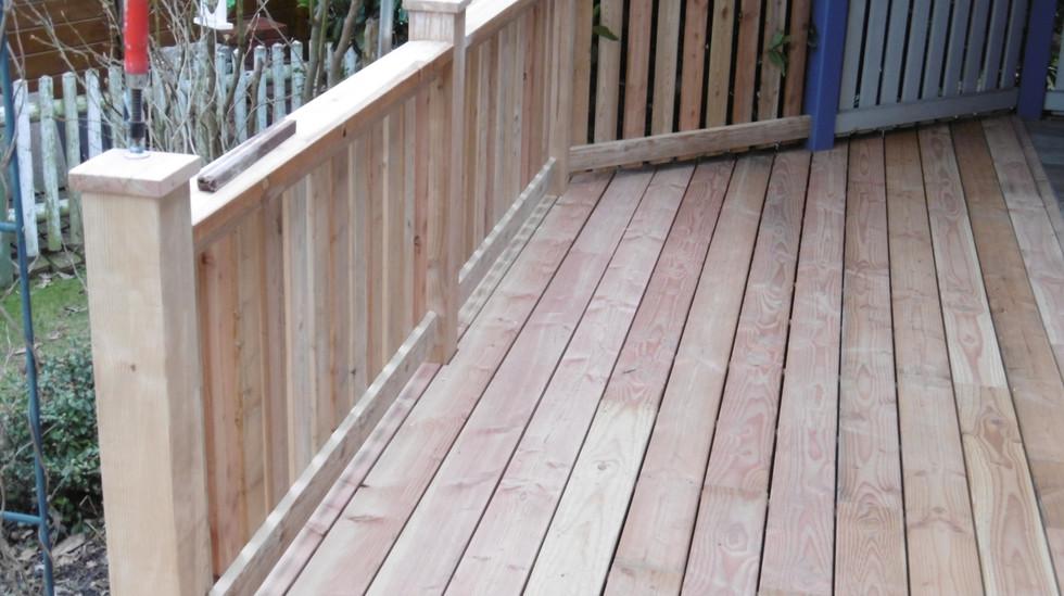 WENCK Holzbau-Konzepte - Terrassen/Balkon