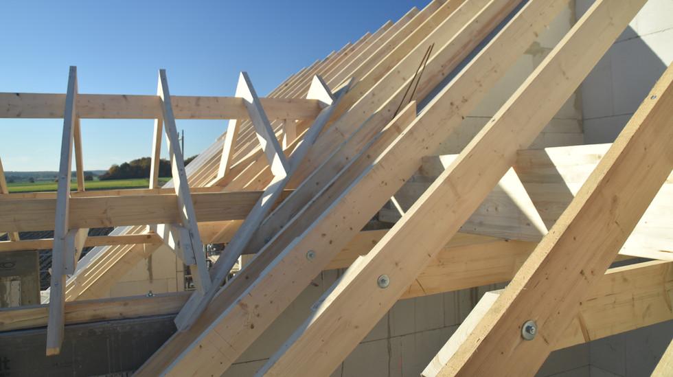 WENCK Holzbau-Konzepte - Dächer und Richthilfen