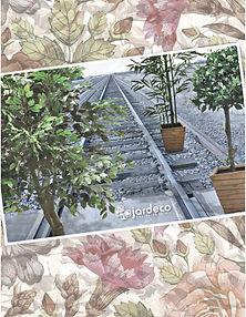 Productos de importación para la decoración y el jardín: follajes, plantas artificiales, macetas, jarrones,vasijas, portarretratos, espejos, accesorios  y novedades. Plantas Artificiales