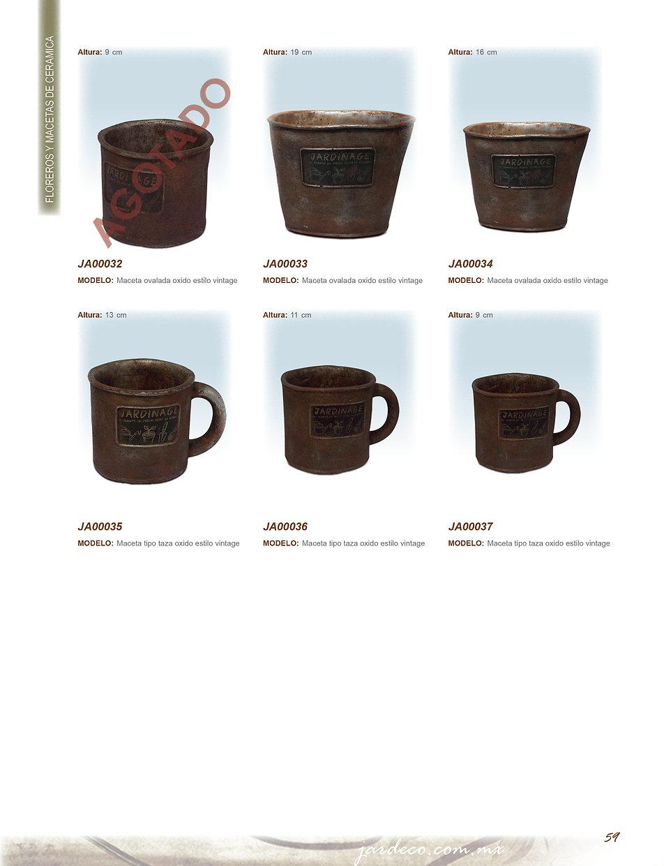 jardeco, decoración de interiores, floreros de ceramica.