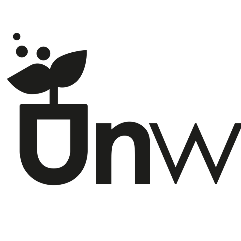 the unwaste Logo all Black .png