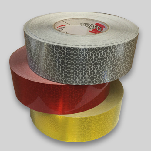 50mm x 50m Conspicuity Reflective Vehicle Marking tape