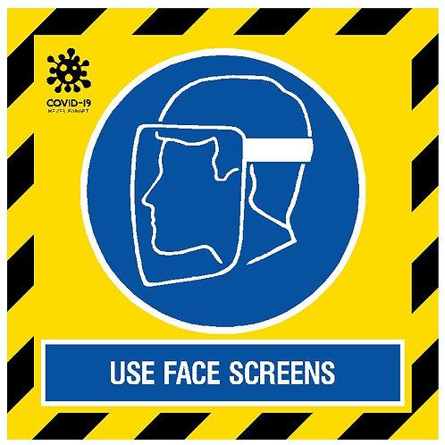 Wear Face Screens