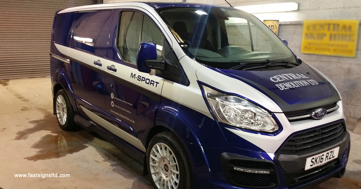 Fast-Signs-M-Sport-van
