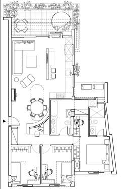דירה בגבעתיים-תכנית אחרי