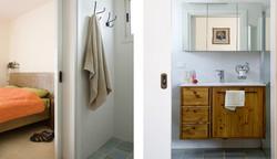 חדר שינה וחדר רחצה הורים ארון אמבט