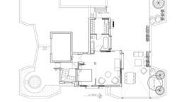 קומה שניה תכנית אדריכלית
